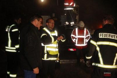 Wiederaufbau nach Großbrand - BHKW in Bernau Friedenstal