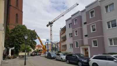 """Rathausbau in Bernau: Jetzt sind wir ne """"richtige"""" Baustelle"""