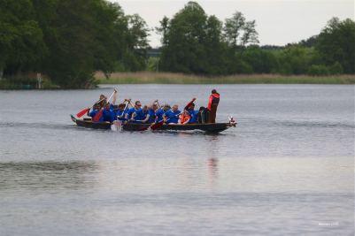 Wandlitz: 11. Drachenbootrennen der Fischerstube Stolzenhagen