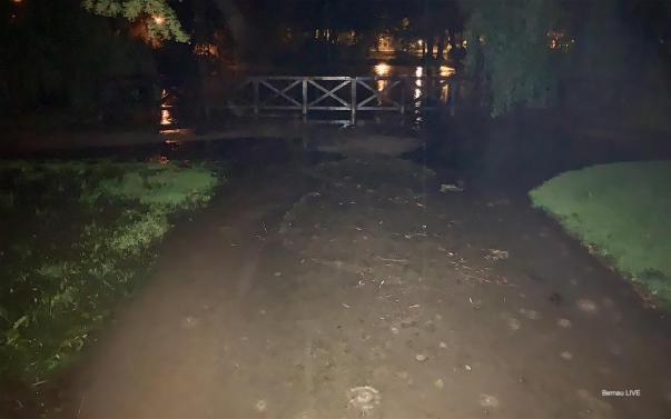 Bernau: Unwetter sorgte für viel Regen und zahlreiche Feuerwehreinsätze