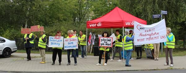 Erzieherinnen wollen Tarifvertrag in Brandenburg