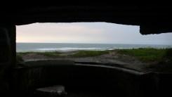 Blick aus einem Bunker des Westwalls.