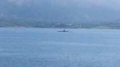 Ein russisches U-Boot! Spionsky! Ganz echt!