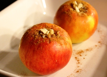 gevulde appel met homemade amandel-cashewspijs 1