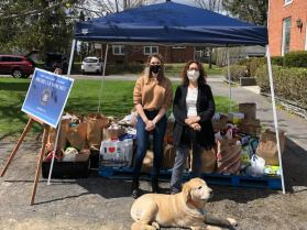Food Drive with Sen. Michelle Hinchey