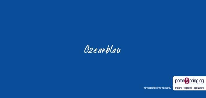 Ozeanblau