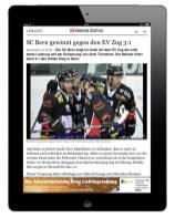 iPad Banner iApp-bernerzeitung.ch