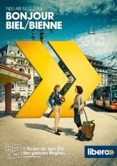 Plakat F200 Biel/Bienne Libero Tarifverbund