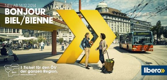Plakat F12 Zentralplatz Libero Tarifverbund