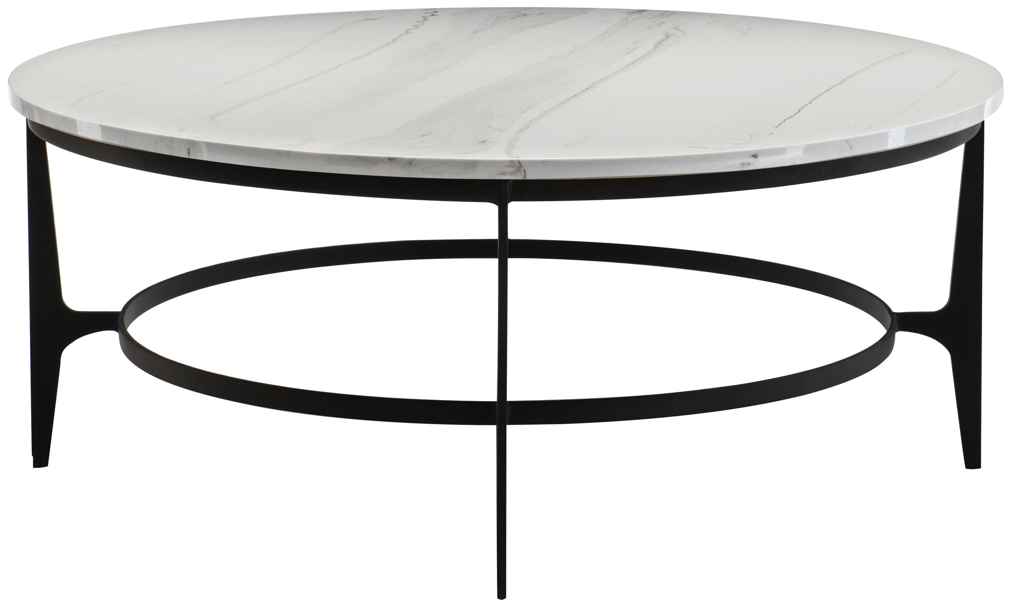 round metal cocktail table bernhardt