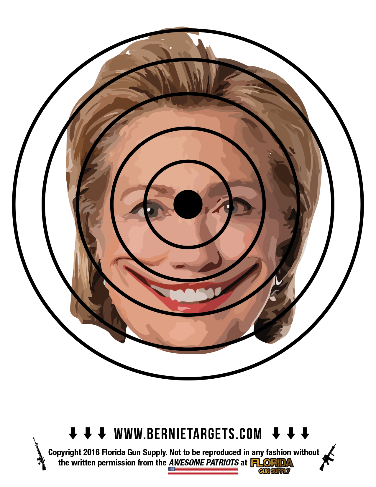 Remember Benghazi By Lighting Up Your Hillary Clinton Shooting Target