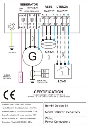 AMF control panel circuit diagram pdf – genset controller
