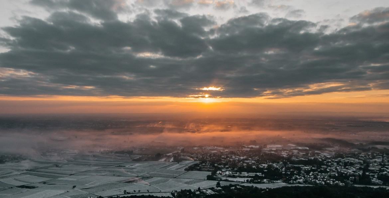 Harzberg Sonnenaufgang