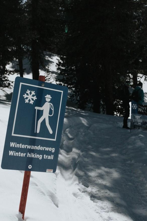 Winterwandern Nauders