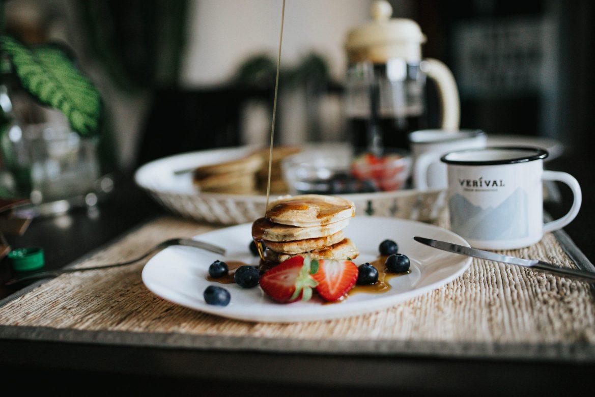 Schnelle Vegane Pancakes