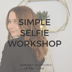Simple Selfie Workshop @ be Rosie Salon | Claremont | California | United States