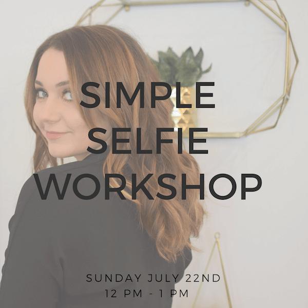 Simple Selfie Workshop