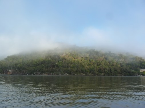 Mist rising over Berowra Valley National Park