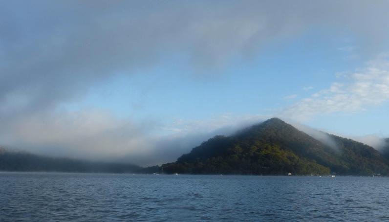Looking up the Hawkesbury River