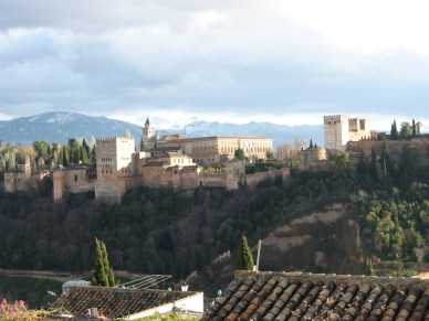 The Alhambra from a distance