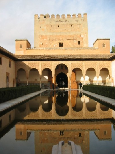 """The sea"" in the Alhambra"