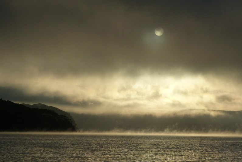 Juno head mist sun