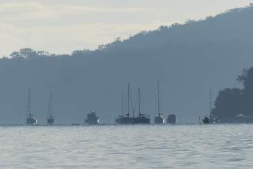Boats at Cottage Point