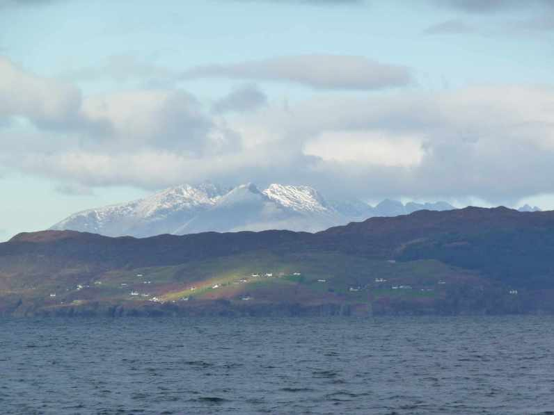 The Cuillin on Skye from Arasaig