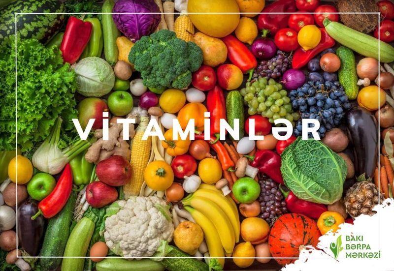 Vitaminlər