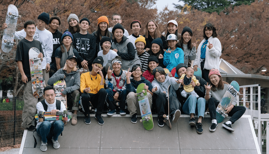 WOMEN'S SKATE EXCHANGE EVENT FOCUSES ON INCLUSIVITY IN TOKYO