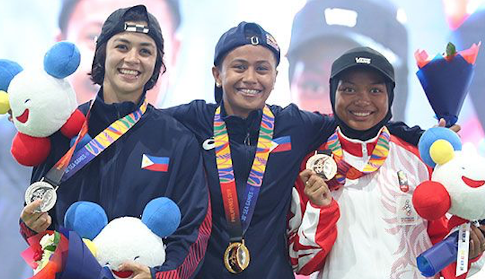 WBATB's Margie Didal & Christiana Means Share The 2019 SEA Games Podium