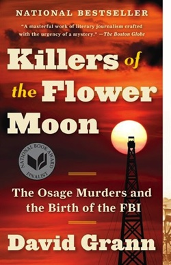 "August BUUF Book Club: ""Killers of the Flower Moon"" @ Home of June Blackwell"