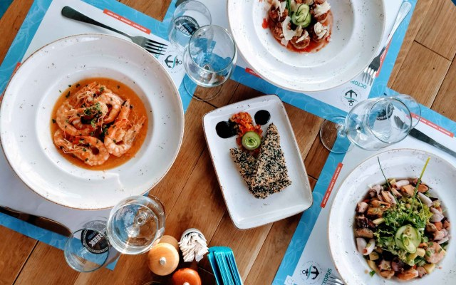 Octopus Eat Greek: flavours of your summer holidays, in the buzzing city (Bucharest)