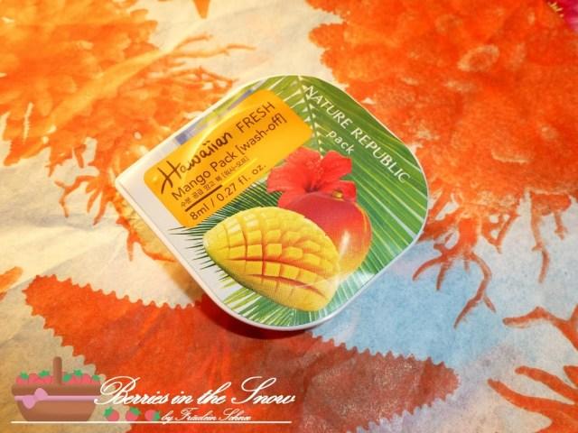 Nature Republic Fresh Hawaiian Mango Pack