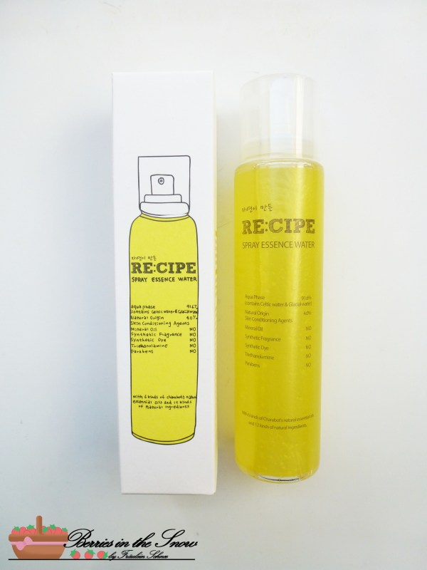 Recipe by Nature Spray Essence Water