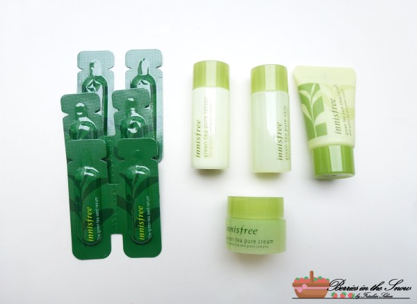 Innisfree Green Tea Pure Deluxe Kit 3
