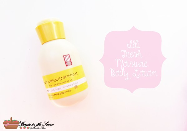 Illi Fresh Moisture Body Lotion
