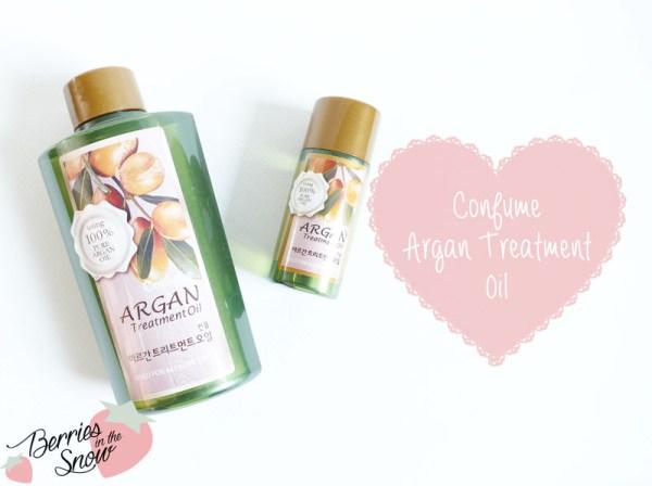 Confume Argan Treatment Oil