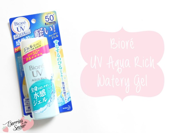 Bioré UV Aqua Rich Watery Gel