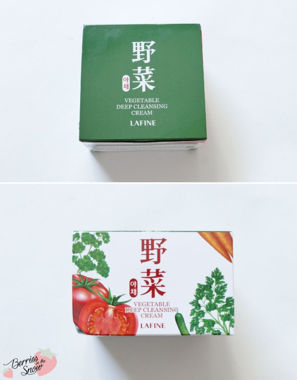 Lafine Vegetable Deep Cleansing Cream