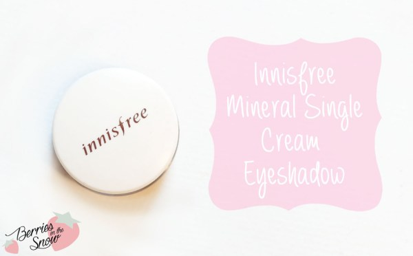 Innisfree Mineral Single Cream Shadow