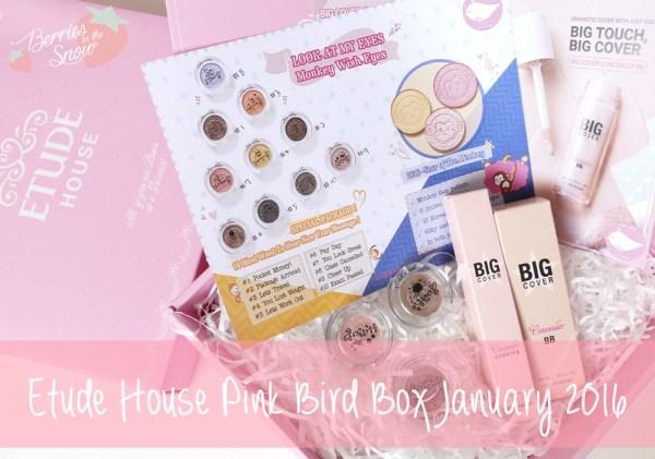 Etude House Pink Bird
