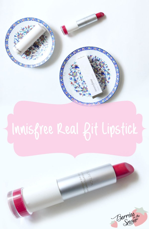 Innisfree Real Fit Lipstick