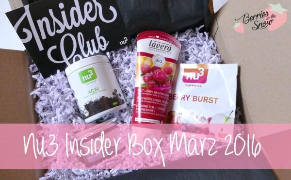 Nu3 Insider Box März 2016
