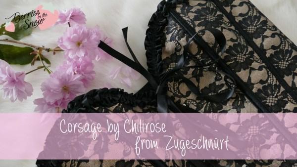 Corsage by Chilirose from Zugeschnürt
