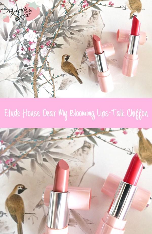 Etude House Dear My Lips-Talk Chiffon