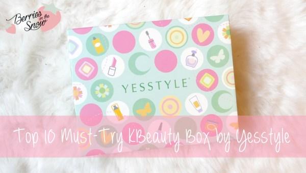 Top 10 Must-Try KBeauty Box | YesStyle