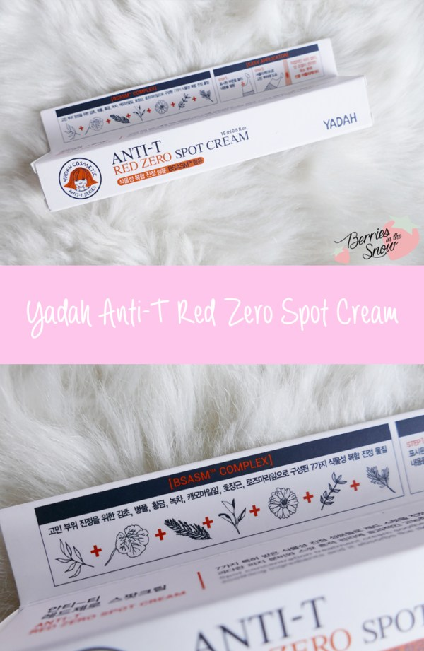Yadah Anti-T Red Zone Spot Cream