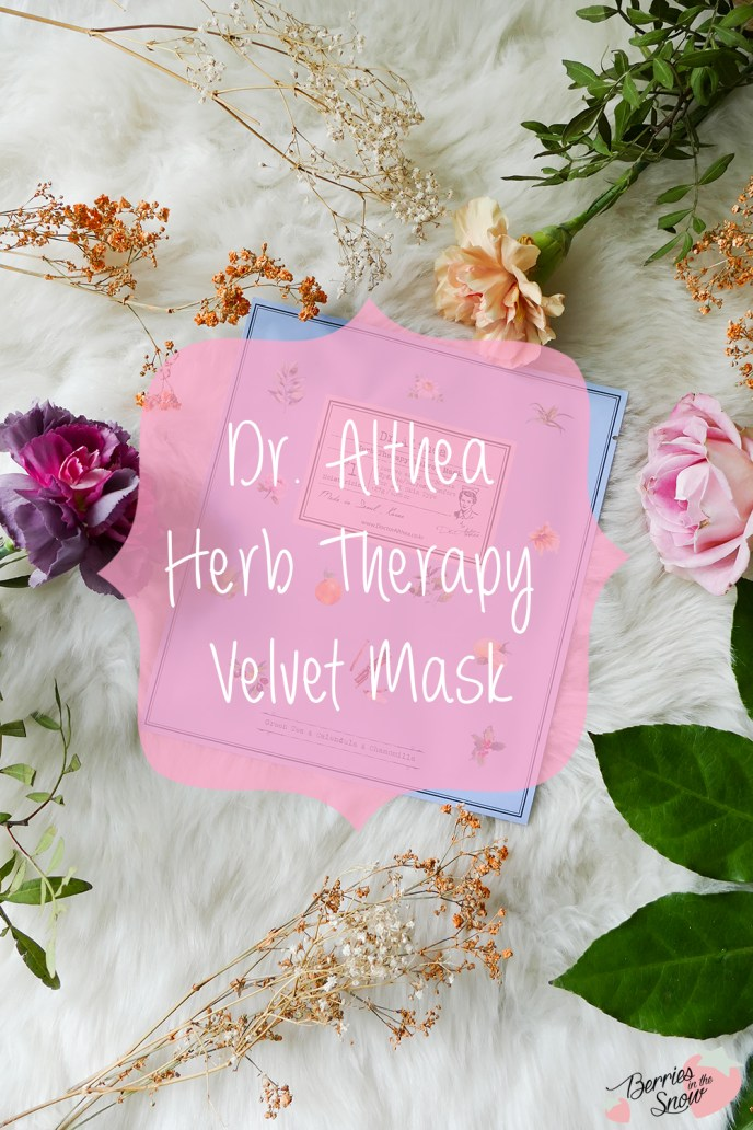 Dr. Althea Herb Therapy Velvet Mask