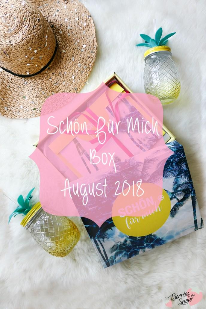 Schön Für Mich Box August 2018